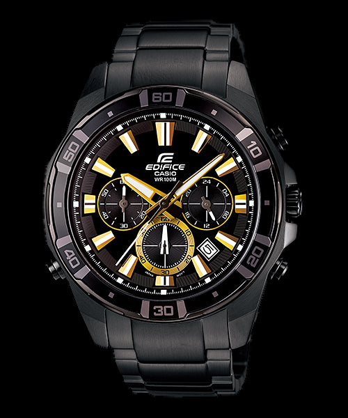 Casio Edifice EFR-534BK-1A Uhr ( New with Tags)