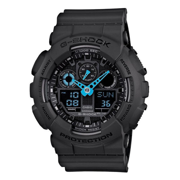 Casio G-Shock Analog-Digital GA-100C-8A Uhr (Neu mit Etikett)