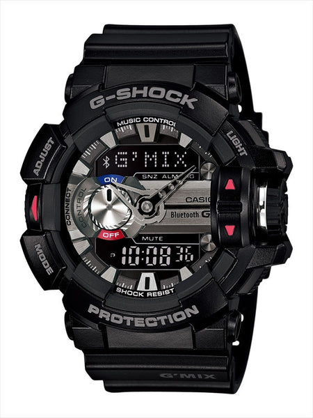 Casio G-Shock G-Mix Analog-Digital GBA-400-1A Uhr (Neu mit Etikett)