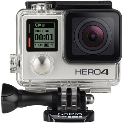GoPro Hero 4 Silber Edition Digital Action Kamera