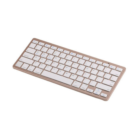Bluetooth-Tastatur für iPad Air 2, Pro 9.7, Mini 1/2/3/4 (Tyrant Gold)