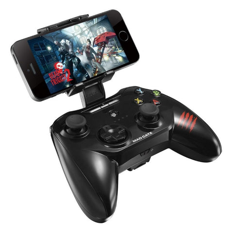 Mad Catz C.T.R.L.i Mobile Gamepad für Apple iPod, iPhone und iPad MCB312630AC2/04/1 (Schwarz)