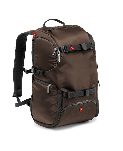 Manfrotto Advanced MB MA-TRV-BW Reiserucksack (Braun))