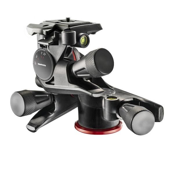 Manfrotto MHXPRO-3WG GeaRot 3 Way Kopf mit Adapto Body