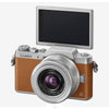 Panasonic Lumix DMC-GF8K mit 12-32mm Kit Objektiv (Brown Silber)
