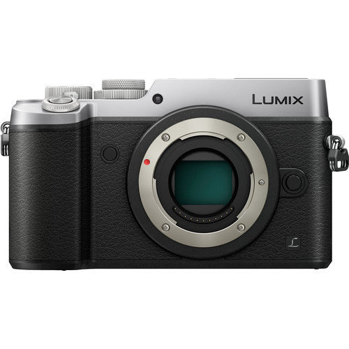 Panasonic Lumix DMC-GX8 Body Silber Mirrorless Digital Kamera