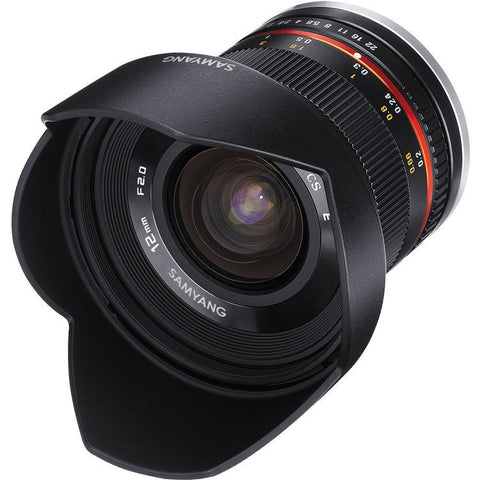 Samyang 12mm f/2.0 NCS CS Linse (Sony E)