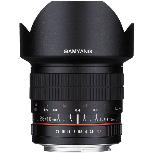 Samyang 10mm f/2.8 ED AS NCS CS Linse (Canon)
