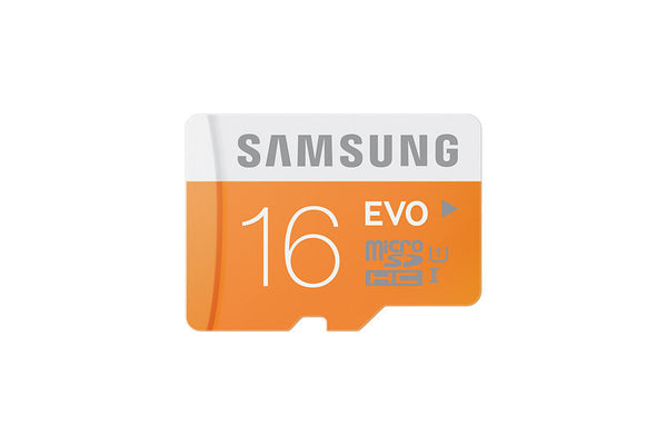 Samsung T-Flash Evo 16GB MicroSDHC Klasse 10 (MB-MP16DA/APC) Speicherkarte mit Adapter
