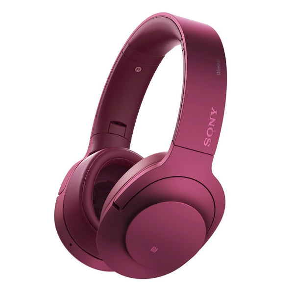 Sony Wireless Noise Canceling Stereo Kopfhörer MDR-100ABN / P (Bordeaux Rosa)