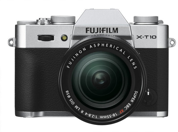 Fujifilm X-T10 Kit mit 18-55mm Silber Mirrorless Digitalkamera