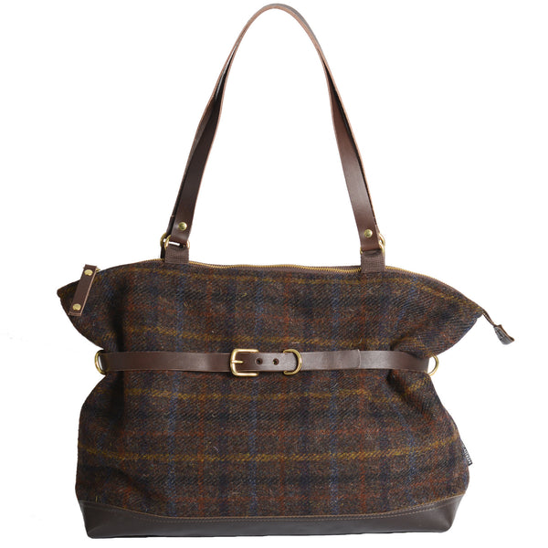 Hayworth Handbag Brown Check