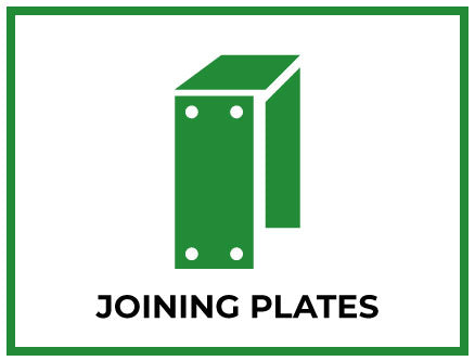 mini link for Joining Plate Bracket Railway Sleeper products available from Indoor Outdoors