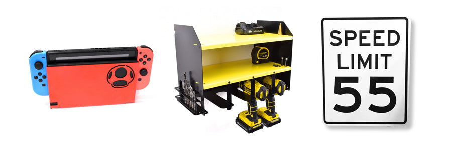 New Product Ranges at Indoor Outdoors - Gaming Accessories, Power Tool Storage, Home Decor Items