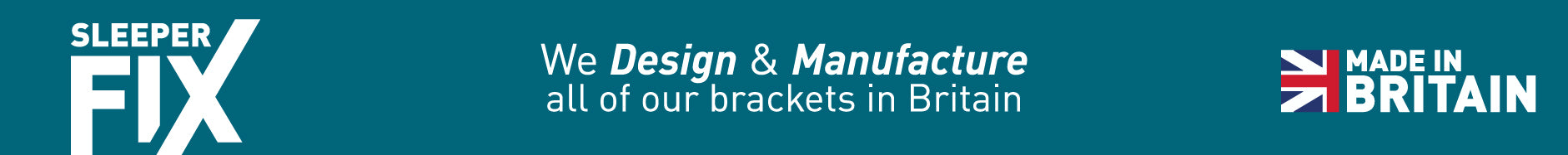 All our Brackets are designed and manufactured in England