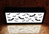 Halloween Haunted Lightbox - Swarm of Bats