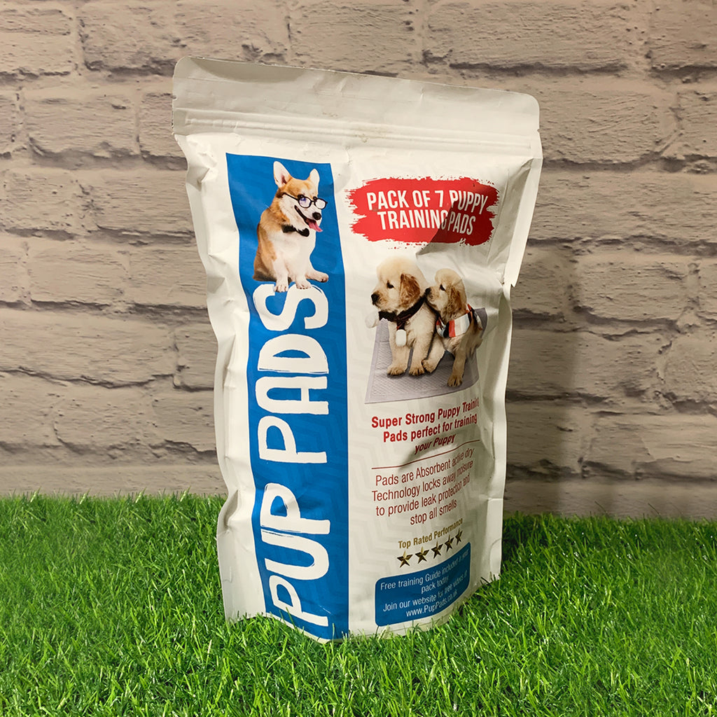 PupPads Premium Puppy Training Pads (Pack of 7)