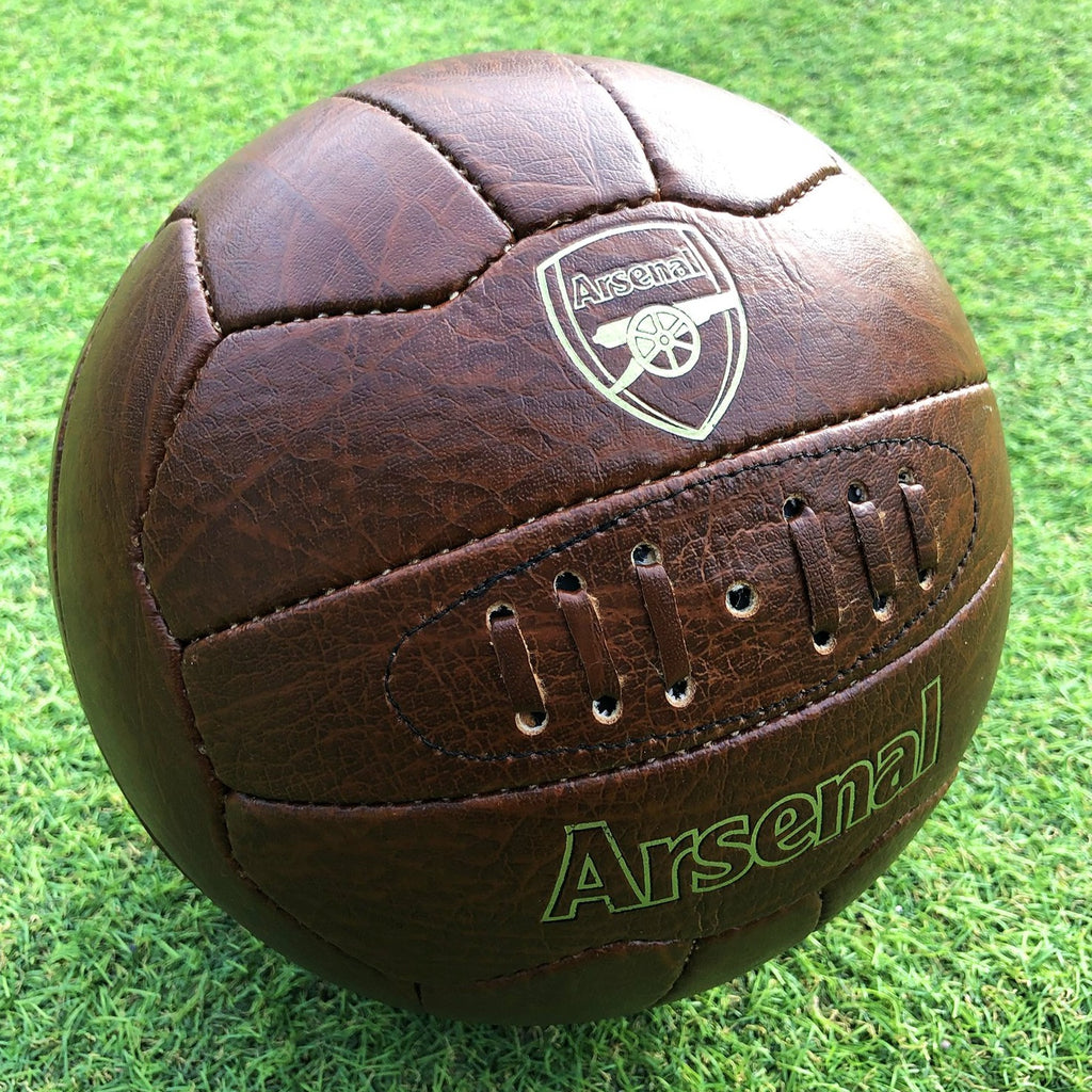 Arsenal FC Retro Faux Leather Football