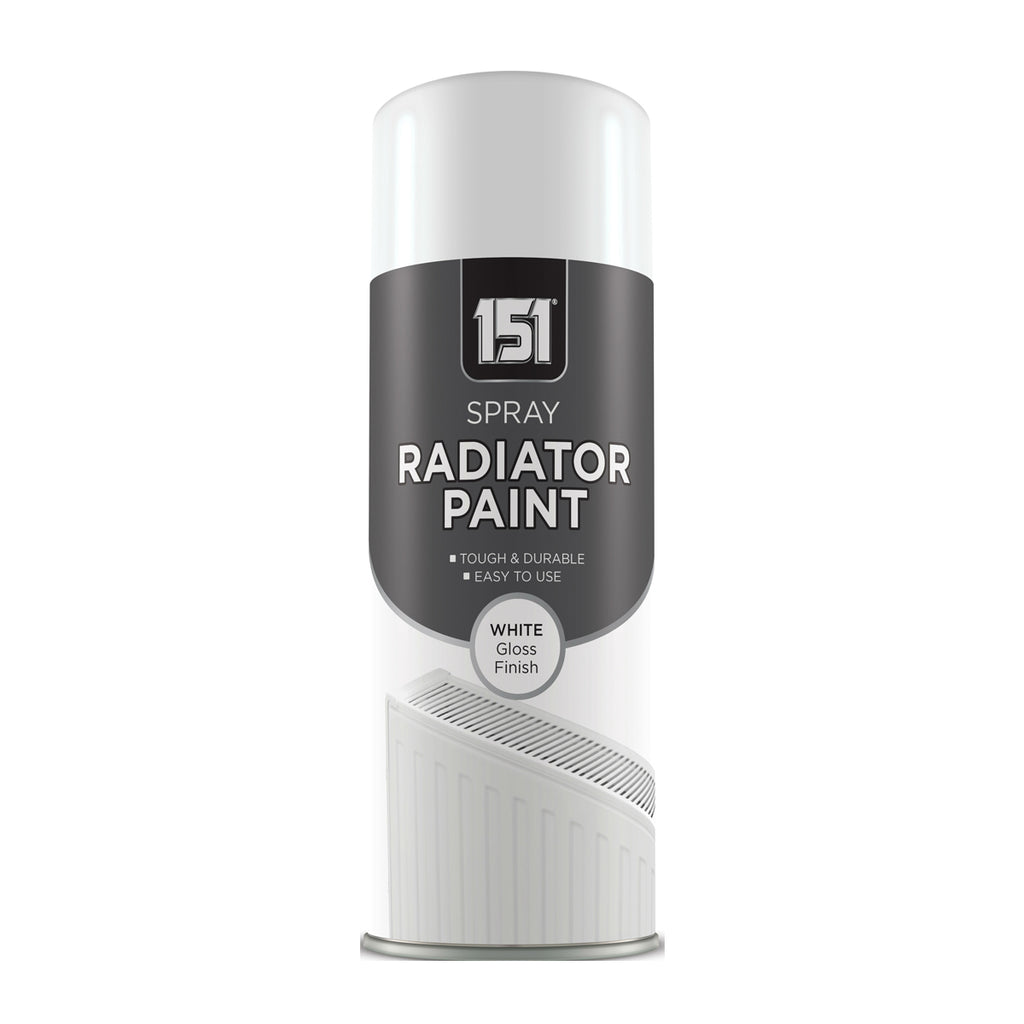 Gloss White Radiator Spray Paint