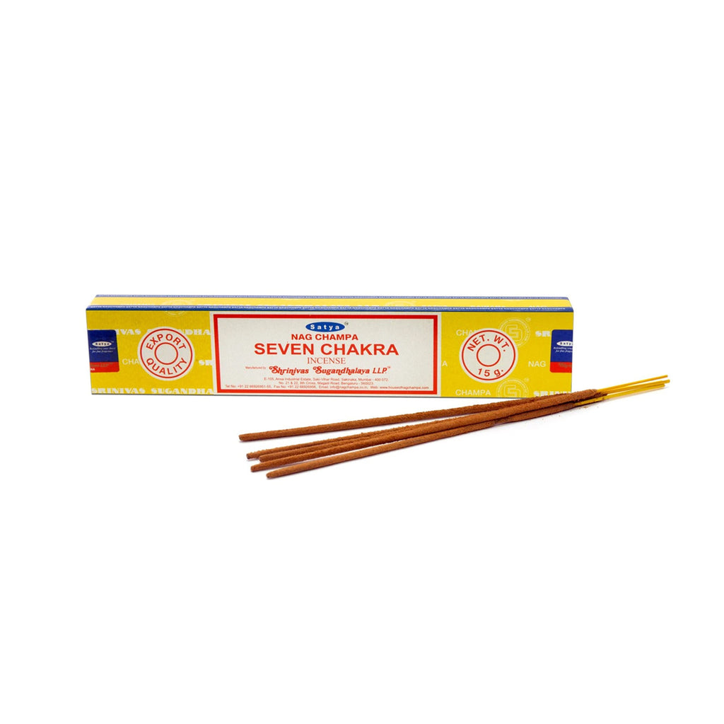 Satya Handmade Indian Incense Sticks (4 Scents Available)