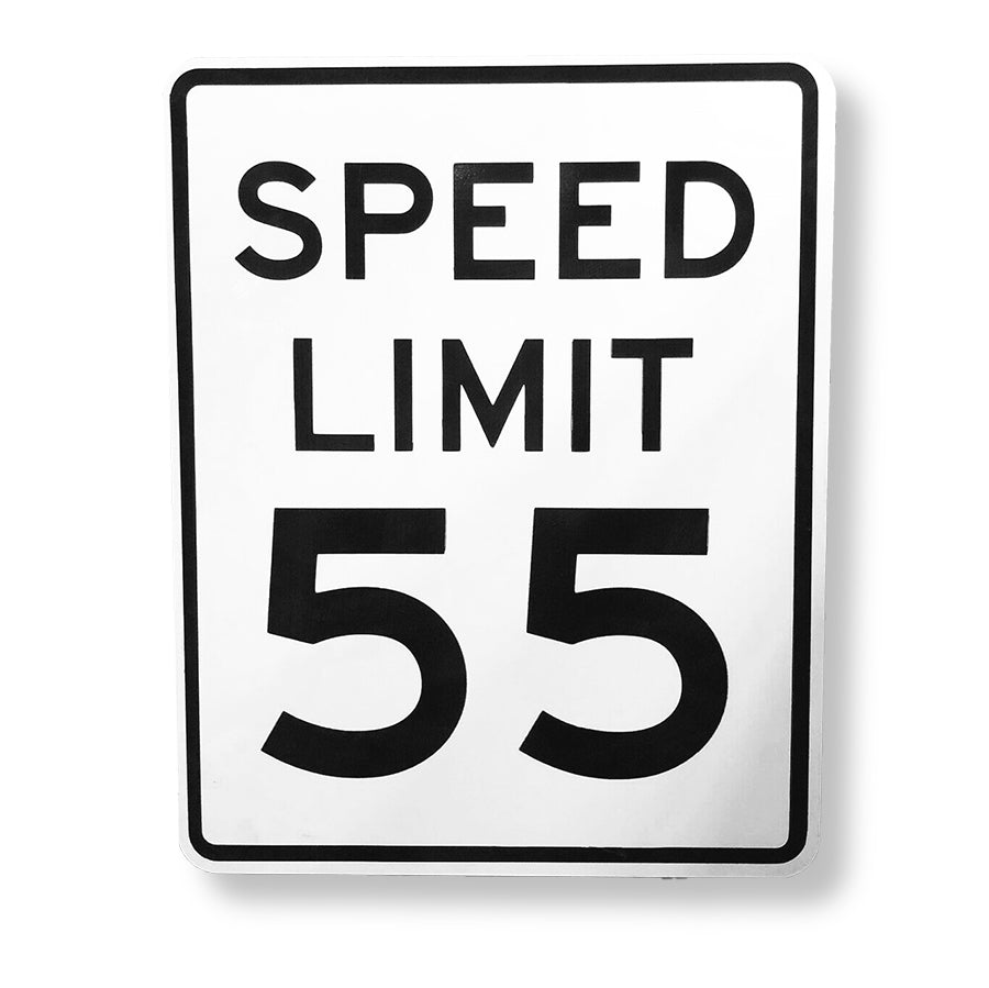 Steel American Speed Limit Sign Automobilia (4537558138954)