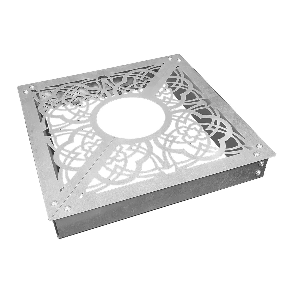 Square-Base Patterned Tree Grille