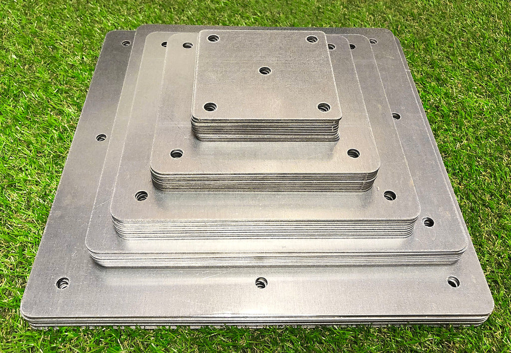 Multipurpose Square Railway Sleeper & Timber Joining Brackets (5 Sizes Available)