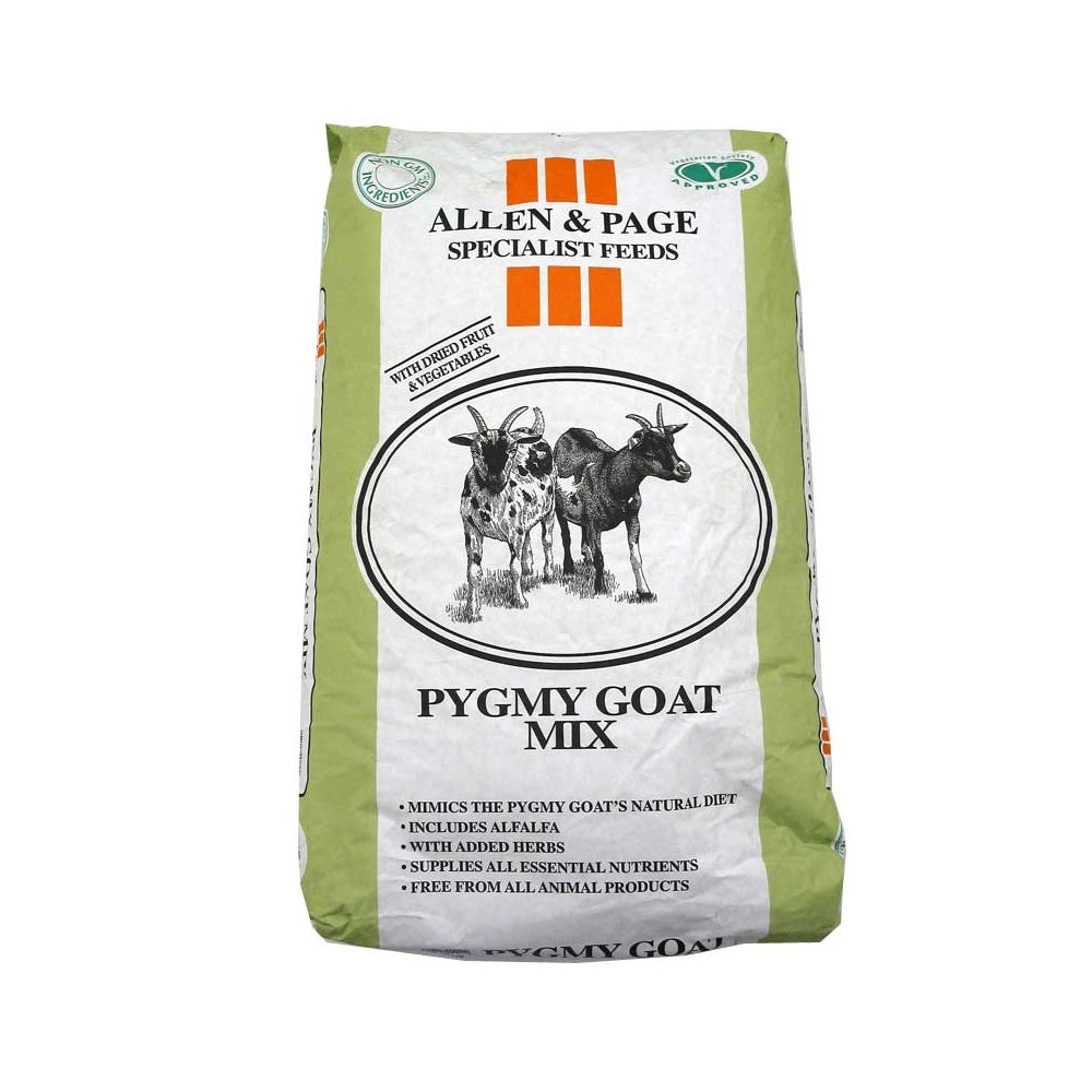 Allen & Page Pygmy Goat Mix (15kg Bag)