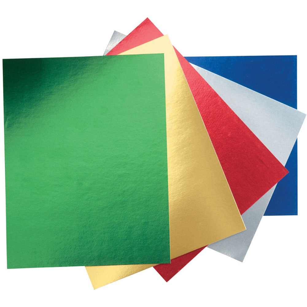 ArtBox Metallic Card Coloured Sheets (Pack of 8)