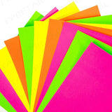 ArtBox A4 Fluorescent Card Sheets (Pack of 10)