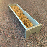 Mini Galvanised Feeding Trough for Rabbits, Guinea Pigs & Small Animals (4707127951434)