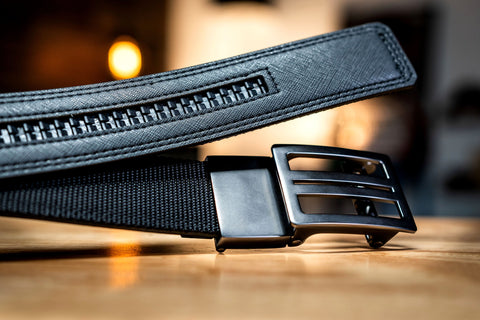 Best ratchet belts for men by kore essentials.