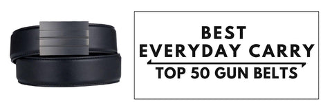 Best Every Day Carry Belts of 2019.  Great concealed carry belts for personal defense.