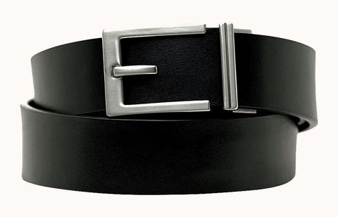 Men's top-grain leather ratchet belt from Kore essentials
