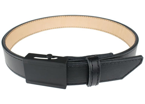 Crossbreed leather gun belt for concealed carry and edc.