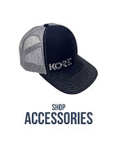 Shop Men's Accessories by Kore Essentials.  Baseball hats, keychains, belt hangers.