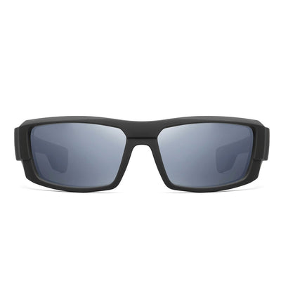 "Kore ""Badlands"" Neo-Lock Sunglasses use smart magnets so you can attach them to your shirt, jacket or gear when not in use. Men's Polarized Sunglasses."