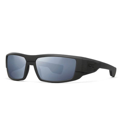 "Kore ""Badlands"" Neo-Lock Sunglasses use smart magnets so you can attach them to your shirt, jacket or gear when not in use. Men's Polarized Sunnies.."