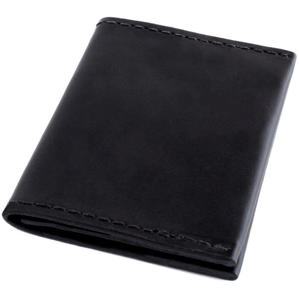 Bi Fold Mens Slim Wallet Kore Full Grain Leather Rfid