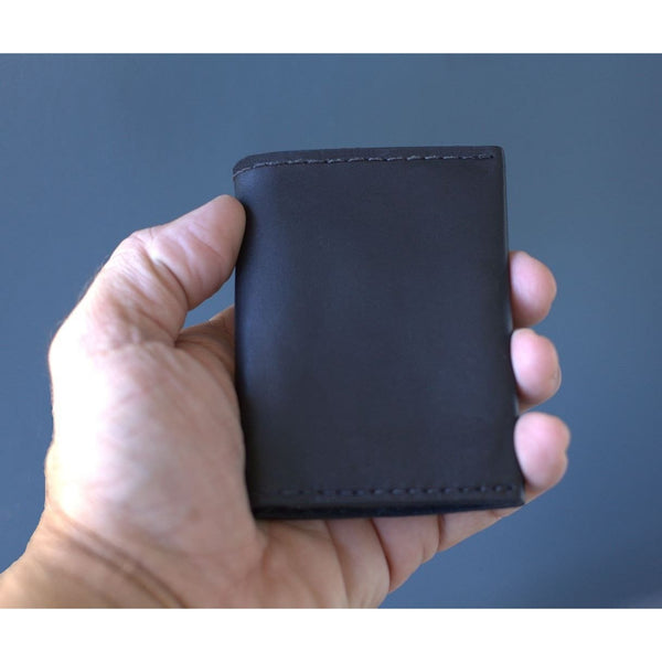 Kore Bi-fold Men's Wallet.  Full-grain leather & RFID Protect to keep credit cards safe.