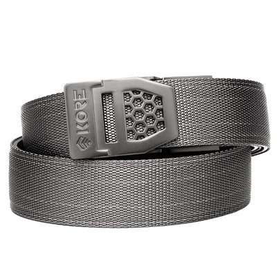 X6 GUNMETAL BUCKLE | GRAY TACTICAL GUN BELT