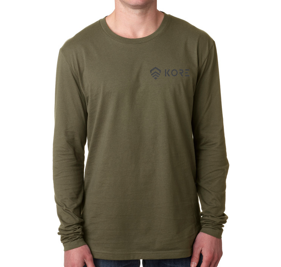 KORE MULTICAM LONG SLEEVE T-SHIRT