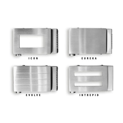 STAINLESS STEEL FASHION BUCKLES  (buckle only)