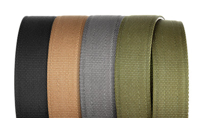 X6 GUNMETAL BUCKLE | TAN TACTICAL GUN BELT