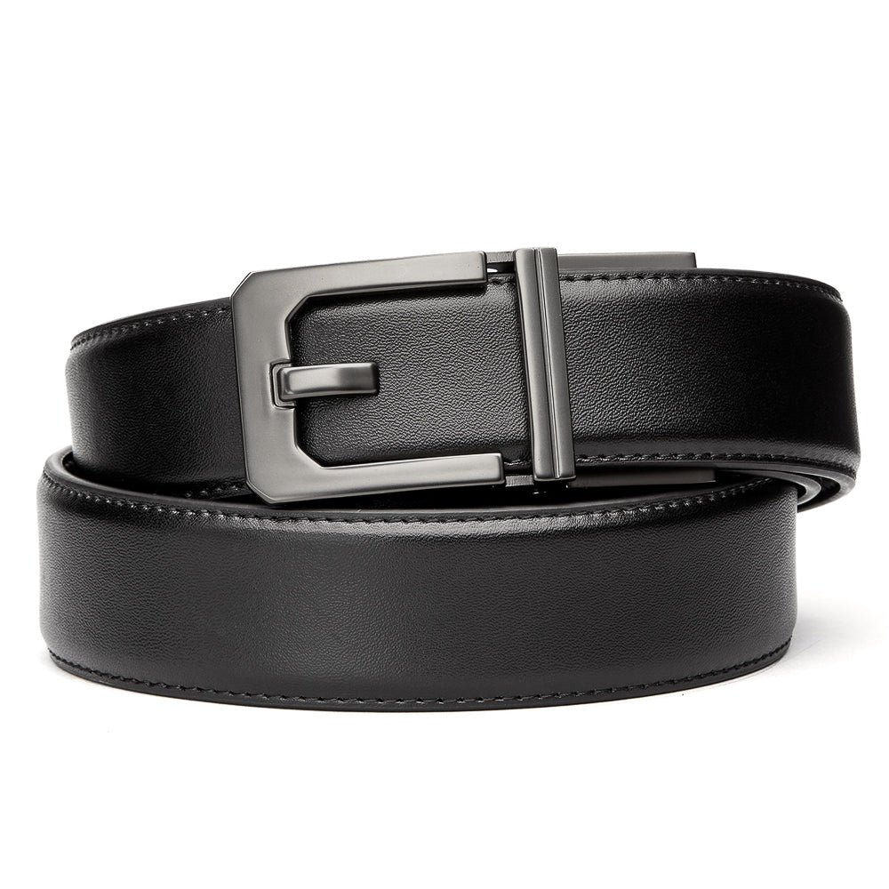 Kore Leather Gun Belts X3 Buckle Black Reinforced Top Grain Belt Kore Essentials See why this is the last belt you will ever need. x3 buckle black leather gun belt