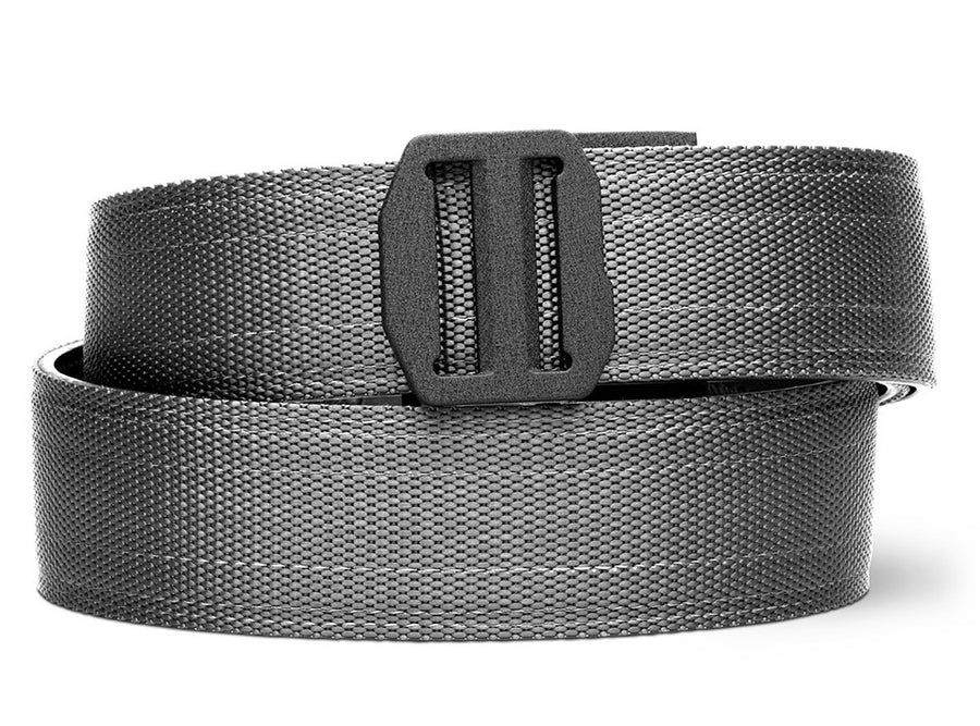 X7 BUCKLE | GRAY TACTICAL GUN BELT