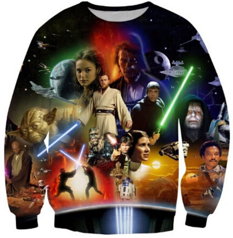 Star Wars Lightsaber 3D Print Sweatshirt