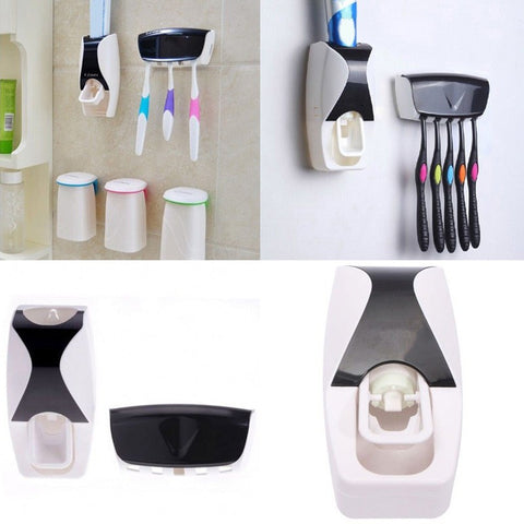 Automatic Toothpaste Dispenser & Holder ( 2 Sets)