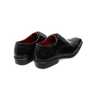 Black Derby - Captoe - Brogues