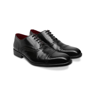 Black Oxford - Captoe - Brogues - ZETTINO